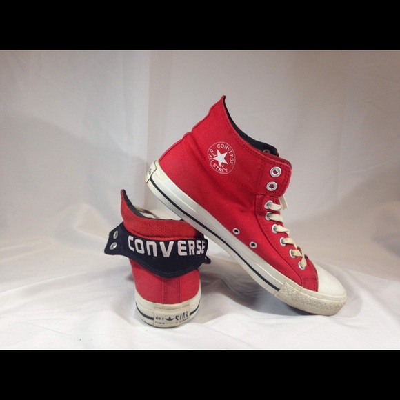 48dd1e5a0637 Converse Other - 🔥FIRE RED UNISEX MID CONVERSE ALLSTARS CT PC2🔥